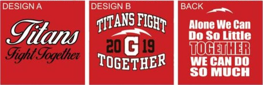 Titans Fight Together graphic