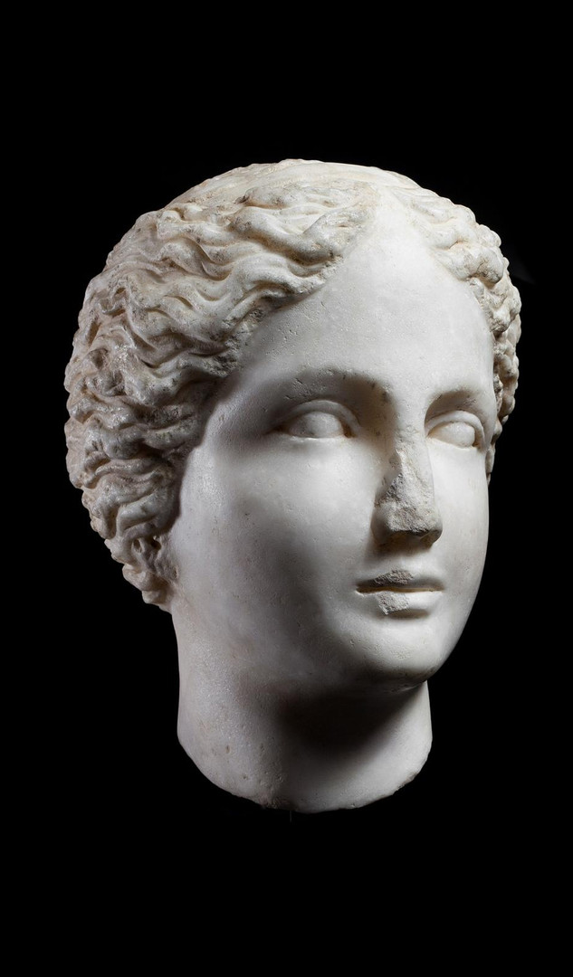 Roman Head of a Nymph