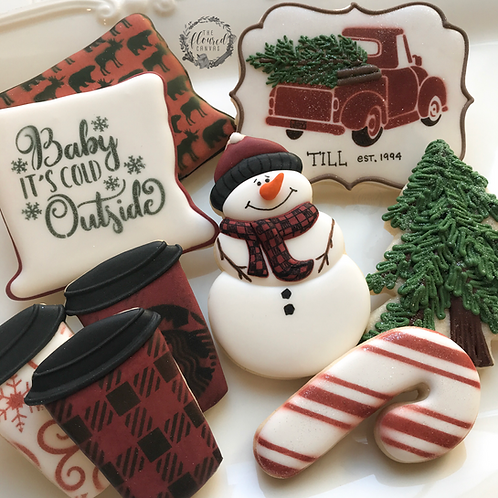 Intermediate Christmas Cookie Decorating Class