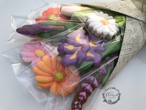 Mixed Bouquet Cookie Decorating Online Class #7