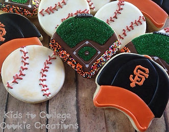 GO GIANTS! #giantscookies #attfield #bas