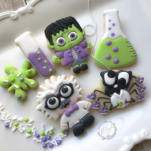 Dr. Jekyll & Mr. Hyde Cookie Decorating Class