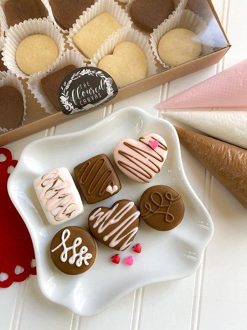 Box of Chocolates Cookie Kit