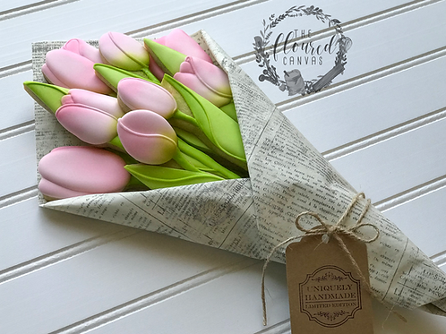 Tulip Bouquet Cookie Decorating Online Class #6