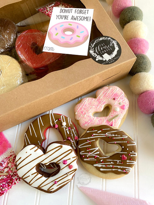 A Dozen Donuts Cookie Kit