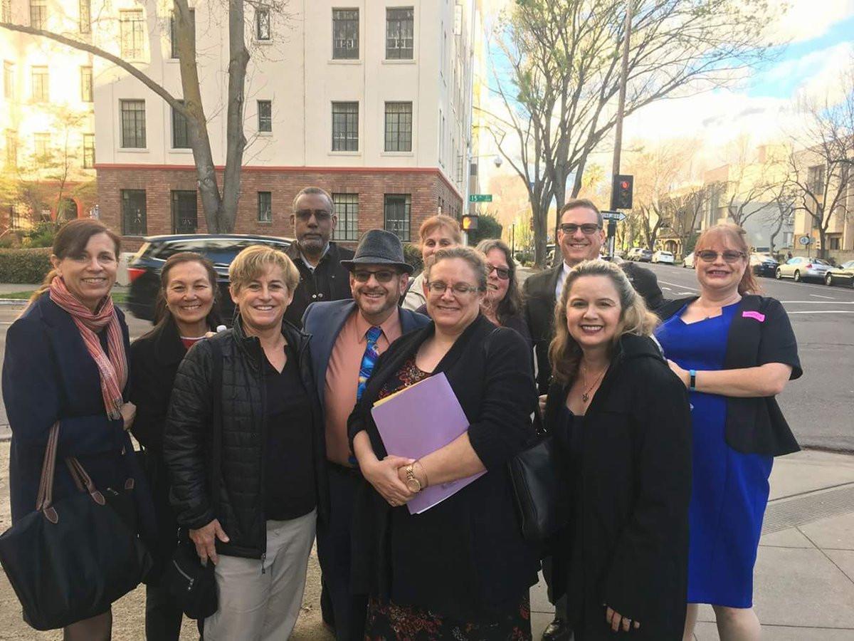 ESTA in Sacramento fighting the expansion of KIPP