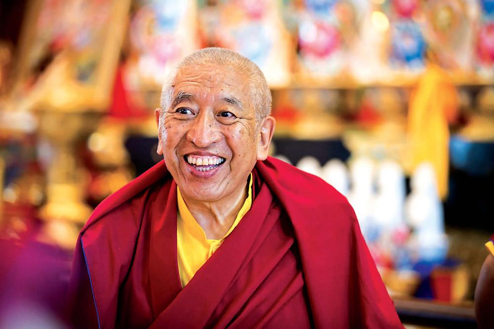 VV Khenchen Thrangu Rinpoche