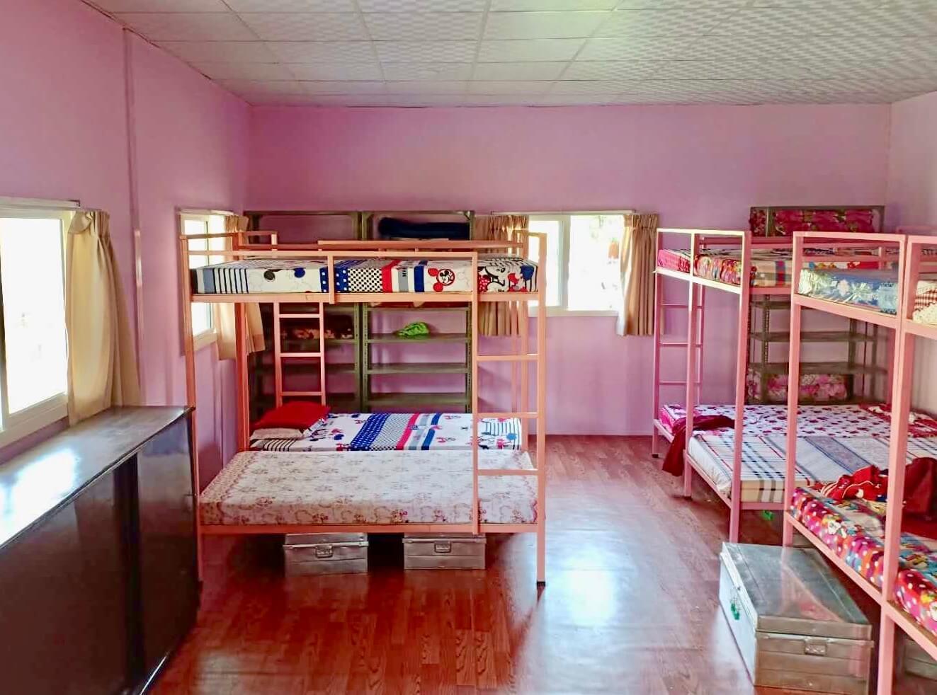 Bunk Beds in New Dorm