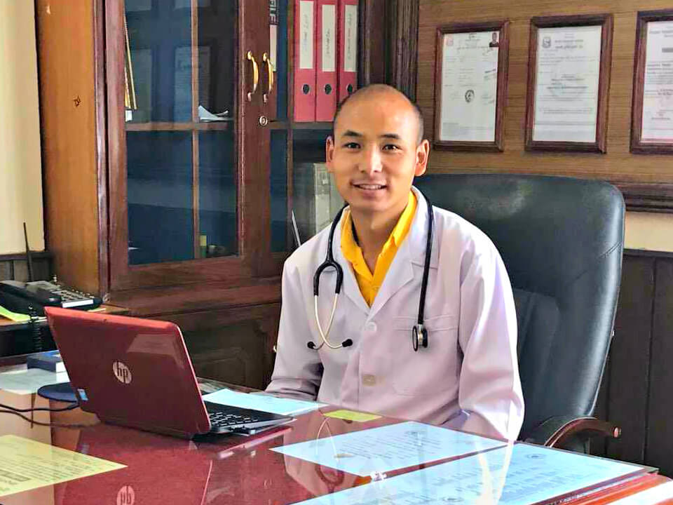 Wangchuk Rabten, Clinic In Charge