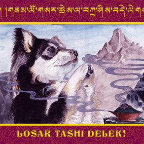 Losar Greeting Cards