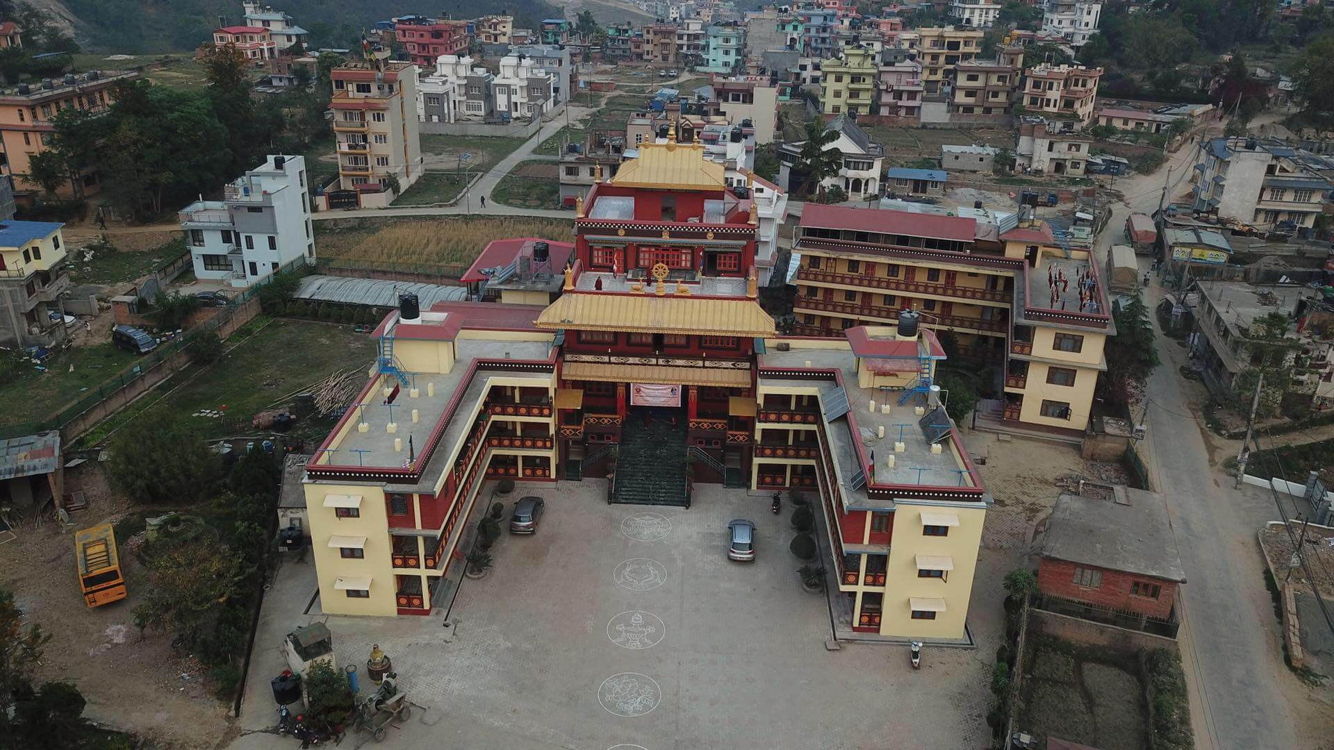 Tara Abbey from above