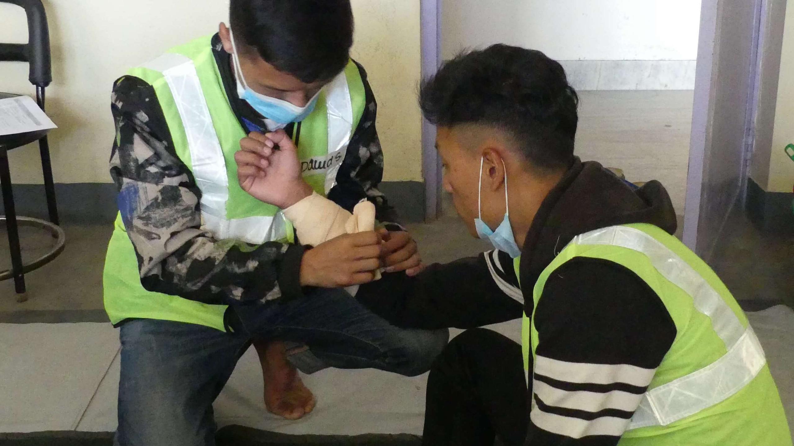 SMD 1st Aid Training