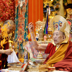 87th Birthday Celebration of Khenchen Thrangu Rinpoche