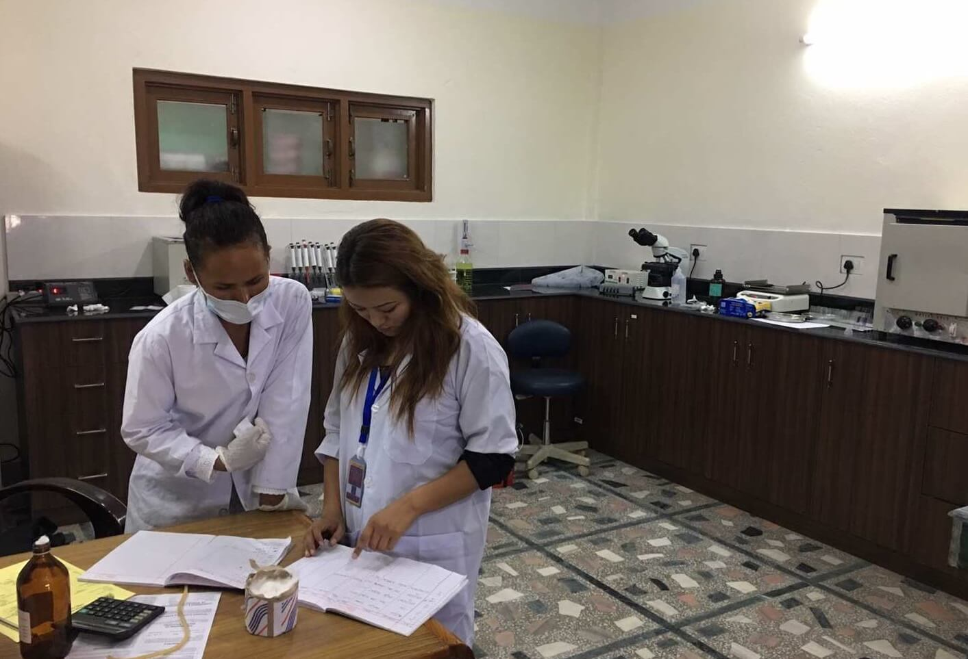 New Lab at Phende Clinic