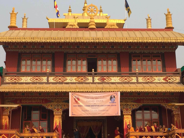 Tara Abbey handover ceremony