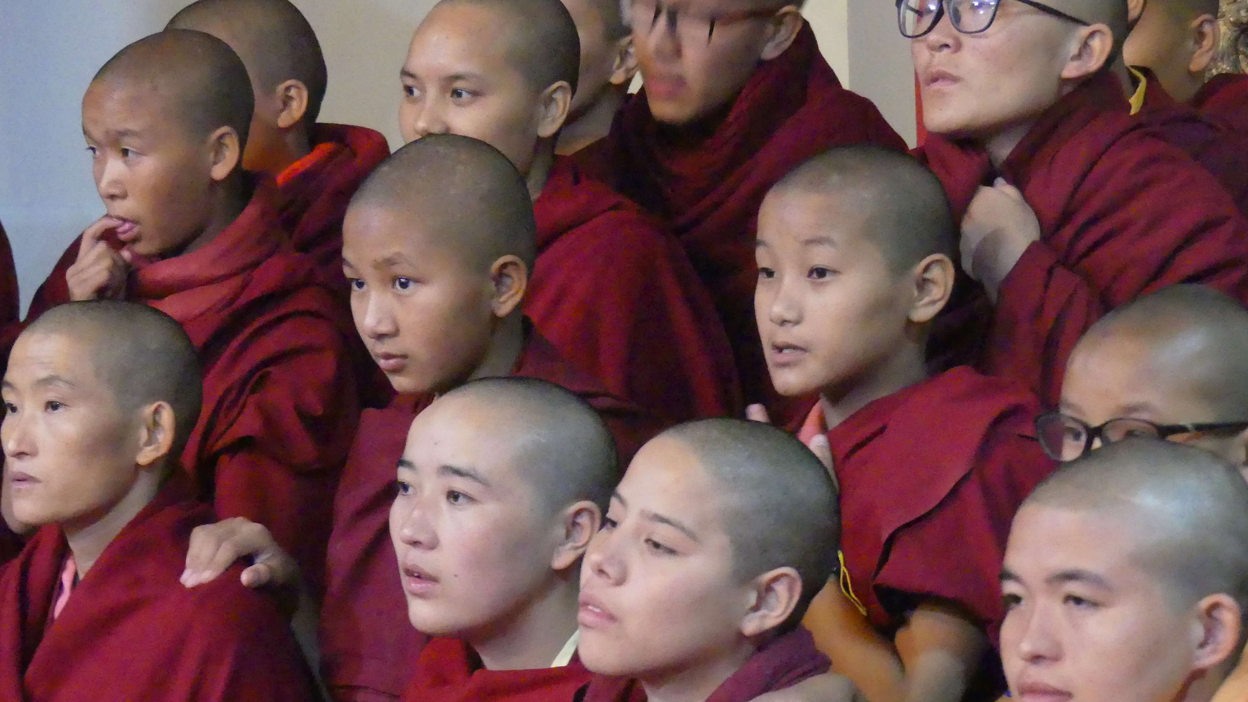 Nuns Watching Tara Dance
