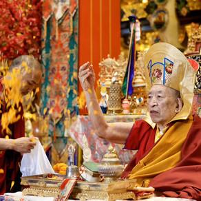 87th Birthday Celebration of the              V.V. Khenchen Thrangu Rinpoche