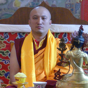 Honouring Lama Wangchuk Topden