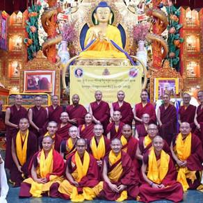 VVI - Shedra Grads & Mahakala Bhumtsok Puja