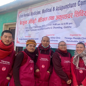 Free Medical Camp in the Tsum Valley