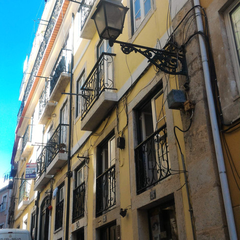 Prédio na Madragoa - Pintura de fachadas