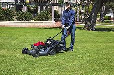 push type, light weight, Honda mower, Commercal lawn mower, walk behind mower, Honda warranty