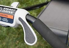 comfy grip handles, Honda mower, walk behind mower, residential mower, Honda Warranty