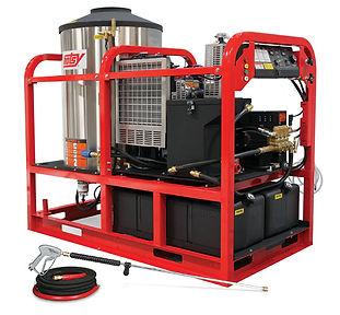 diesel heated, hot water, pressure washer, power washer
