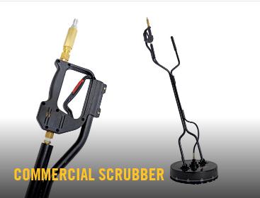 commercial scrubber, Hustler, Pressure Washer, Hustler pressure washer
