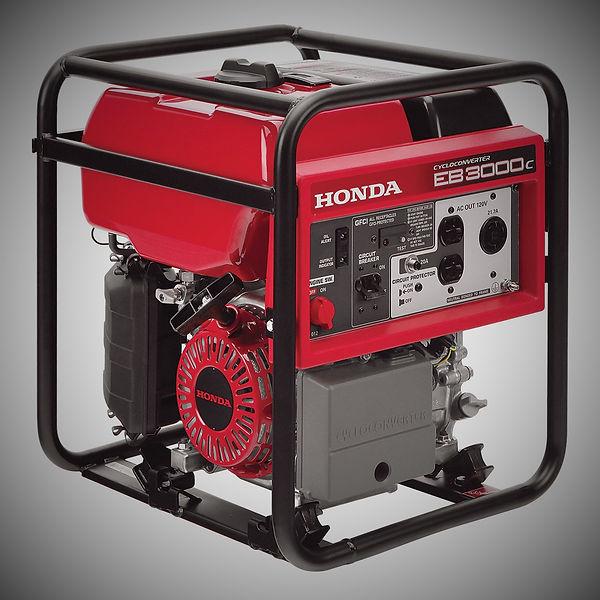 EB3000c, Honda Generators, Honda Warranty, generators