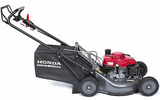 large easy empty grass bag, Honda mower, Commercal lawn mower, walk behind mower, Honda warranty