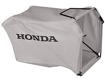 large capacity grass bag, Honda mower, walk behind mower, residential mower, Honda warranty