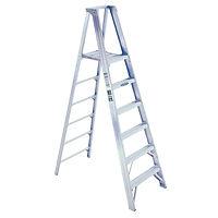 8' Ladder, Werner Ladder, 7 Step, 300lb
