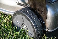 """8"""" wheels, Honda mower, walk behind mower, residential mower, Honda Warranty"""
