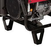 reinforced standing legs, Honda Generators, Honda Warranty, generators