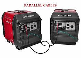 parallel cables, Honda accessories, Honda Generators, Honda Warranty, generators