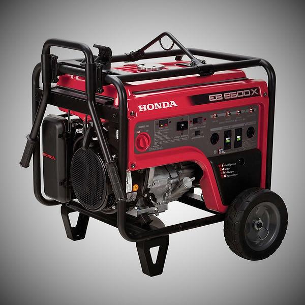 EB6500X, Honda Generators, Honda Warranty, generators