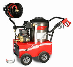 500 series, hot water, electric powered, oil heated, pressure washer, portable