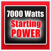 7000 watt starting power, Honda Generators, Honda Warranty, generators