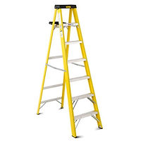 6' Ladder, Stanley Ladder, 5 Step, 250lb