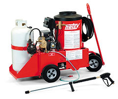 500 series, liquid propane heated, electric powered, hot water, pressure washer, power washer, portable