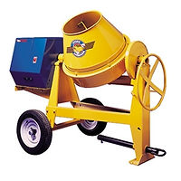 Towable Concrete Mixer, Tow Behind Cement Mxer, Cement Mixer