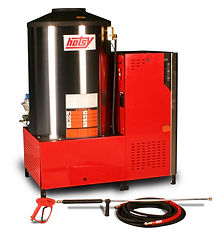 5700/5800 series, natural gas heated, electric powered, hot water, stationary, pressure washer, powerwasher