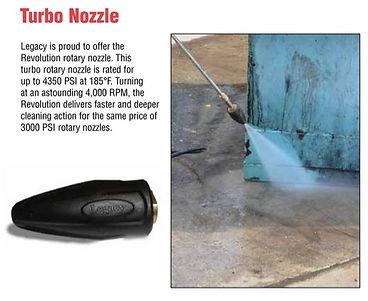Hotsy turbo nozzles