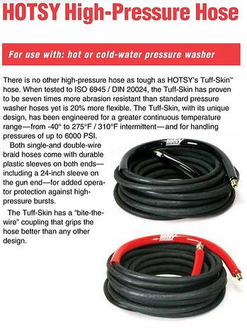 Hotsy hoses