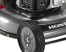 durable steel deck, Honda mower, Commercal lawn mower, walk behind mower, Honda warranty