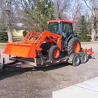 Kubota Tractor, Tractor