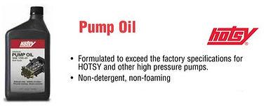 Hotsy pump oil