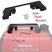 anti theft bracket, Honda Generators, Honda Warranty, generators
