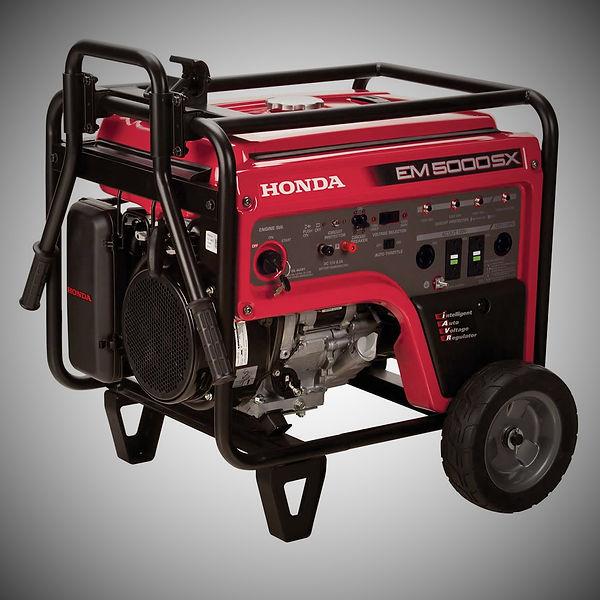 EM5000SX, Honda Generators, Honda Warranty, generators
